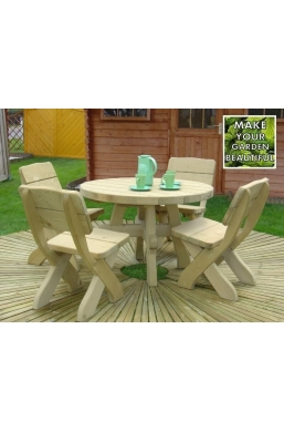 Milosz Garden Furniture Set