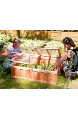 Big Garden Wooden Cold Frame