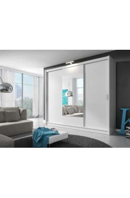 250 cm MODERN BEDROOM SLIDING DOOR WARDROBE 'WIKI'