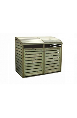 Wooden Wheelie Bin Storages