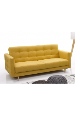 BEAUTIFUL SOFA GODIVO YELLOW