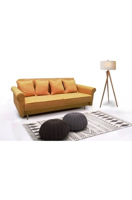 Brand New Beautiful Sofa 'Krystyna' Yellow