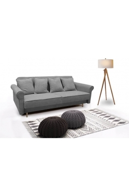 Brand New Beautiful Sofa 'Krystyna' Light Gray