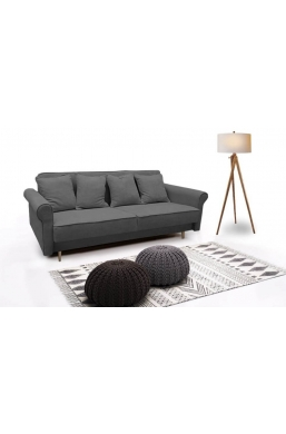 Brand New Beautiful Sofa 'Krystyna' Dark Gray
