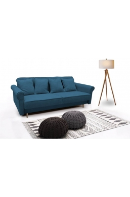 Brand New Beautiful Sofa 'Krystyna' Dark Blue