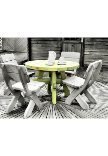 Milosz Garden Furniture - Round Table