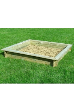 Pine Wood Sandbox for Children (120cmx120cm)