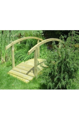 Wooden Garden Bridge (90cmx180cm)