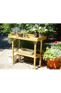 GARDEN PINE WOOD TABLE