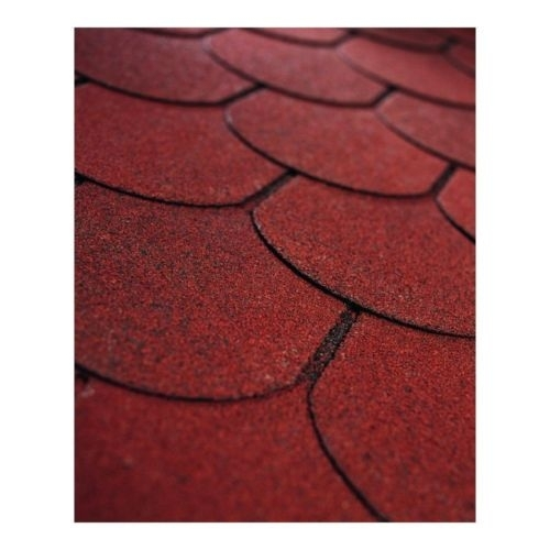 WITH RED FELT TILES